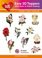 Hearty Crafts Easy 3D Toppers  HC8257 Condoleance