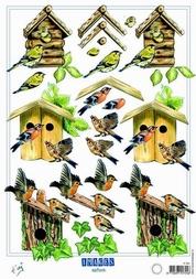 A4 Knipvel Marianne Design Shake it 491 natuurhuisje