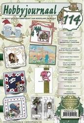 Hobbyjournaal 114 + knipvel Yvonne CD10400