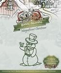 Yvonne's Cut & Emboss Die YCD10005 Snowman