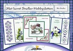 Hobbydols 133 Met kerst Sneller Hobbydotten + 14 stickers