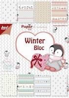 Joy! A5 Paperbloc 6011-0046 Winter