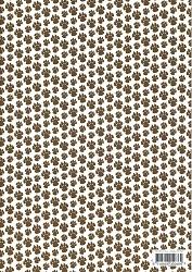 A4 Basisvel Hobbyidee hi3082 Honden poten