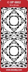 Doodey Stickervel Transparant XP6802