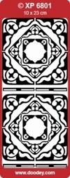 Doodey Stickervel Transparant XP6801