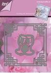 Joy Cutting & Emb. 1201-0091 Lin & Lene 4-kant ruit & glazen
