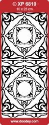 Doodey Stickervel Transparant XP6810