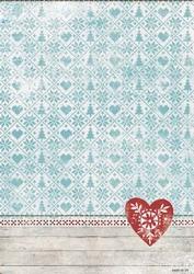 A4 Studio Light Basisvel BA4-179 Scandinavian Winter hart