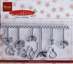 MD clear stamps Quiling FG2464 Decorations