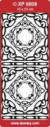 Sticker Doodey transparant XP6808 Hoekjes Astrid