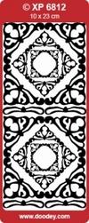 Doodey Stickervel Transparant XP6812