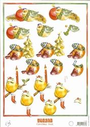 A4 Knipvel MD Tiny's IT474 Vogels