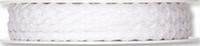 Zigzag lint 5mm 511 Wit