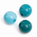 KNORR prandell Houten kralen mix 330 Turquoise