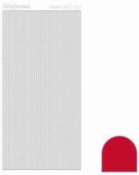Stickervel Hobbylines Adhesive HLA014 Red