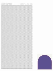 Stickervel Hobbylines Mirror HLM016 Violet