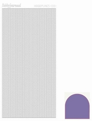 Stickervel Hobbylines Mirror HLM019 Purple