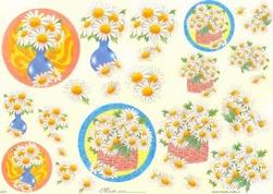 Knipvel A4 Mireille E670 Bloemen