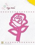Nellie's Die Happy Stitches HSD004 Rose