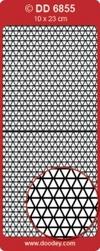 Doodey Achtergrondsticker Stickervel DD6855 driehoekjes