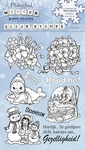 Stempel Yvonne Creations YCCS10001 Playfull Winter