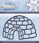 Yvonne's Cut & Embos Die YCD10014 Playfull Winter Igloo