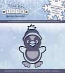 Yvonne's Cut & Embos Die YCD10013 Playfull Winter Pinquin