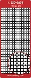 Doodey Achtergrondsticker Stickervel DD6858 schildje