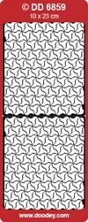 Doodey Achtergrondsticker Stickervel DD6859 mozaiek