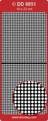 Doodey Achtergrondsticker Stickervel DD6851 rondjes