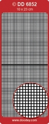Doodey Achtergrondsticker Stickervel DD6852 vierkant