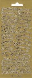 Sticker Peel-Off Engelse tekst 1245 Diverse teksten