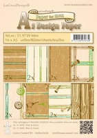 LeCreaDesign Design papier ass A5 519739 mannen