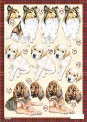 3D Stansvel Line 616 Honden