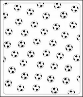 Crafts Too embossing folder CTFD4003 Football