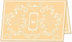 Embossing Folder Craftwell Fanciful Flight