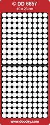 Doodey Achtergrondsticker Stickervel DD6857 achthoek