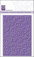 cArt-Us Embossing folder 8024 bloem en ornament
