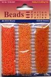 Hobby & Crafting trio Beads Pearl & Gloss 4607 Orange/oranje