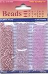 Hobby & Crafting trio Beads Pearl & Gloss 4605 Lilac/lila
