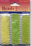 Hobby & Crafting trio Beads Pearl & Gloss 4603 Lime
