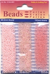 Hobby & Crafting trio Beads Pearl & Gloss 4601 Pink/roze