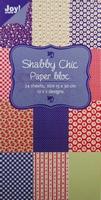 Joy! Papierblok 6011-0311 Shabby Chic (blauw)