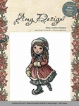 Cling Stamp - Amy - ADST10005 Winter Collection Skating girl
