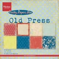 MD Pretty Paper Bloc PK9120 Old Press