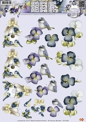 3D Knipvel Precious Marieke CD10355 Vogelhuisje