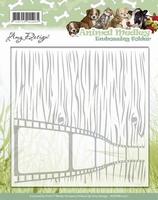 Amy Design Embossing Folder ADEMB10001 Animal Medley