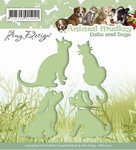 Amy Design Die Animal Medley ADD10023 Cats and Dogs