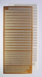 LeCreaDesign® Sticker-Stitch 612686 Koper/goud