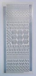 LeCreaDesign® Sticker 612716 Lijn-ornament